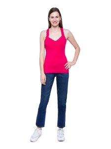 Hollister Women Pink Tank