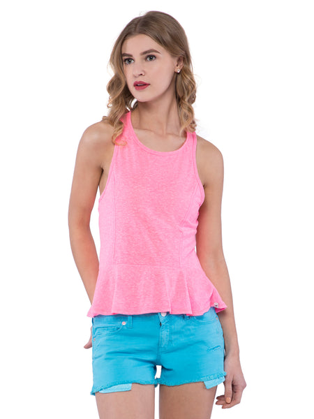 Hollister Women Light Pink Tank