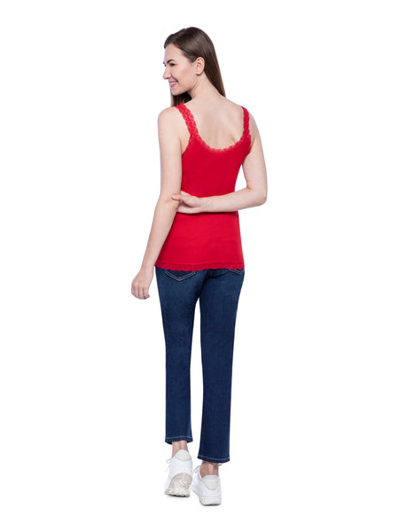 Hollister Women Red Tank