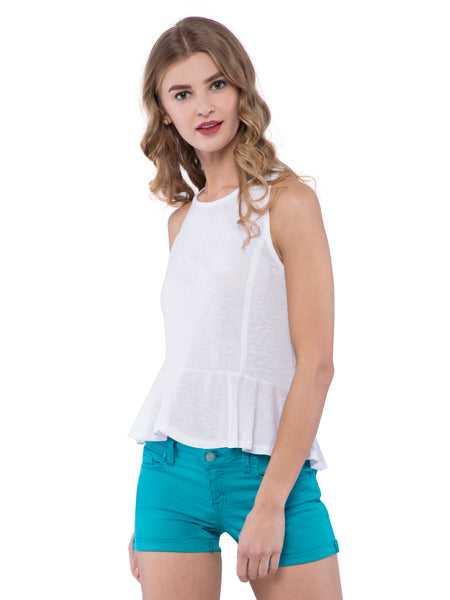 Hollister Women White Tank