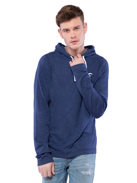 Hollister Men Midnight Blue Hoodie