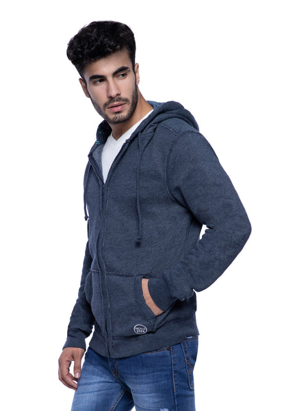 Hollister Men Dark Blue Hoodie