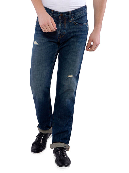 Hollister Men Black Classic Straight Jeans