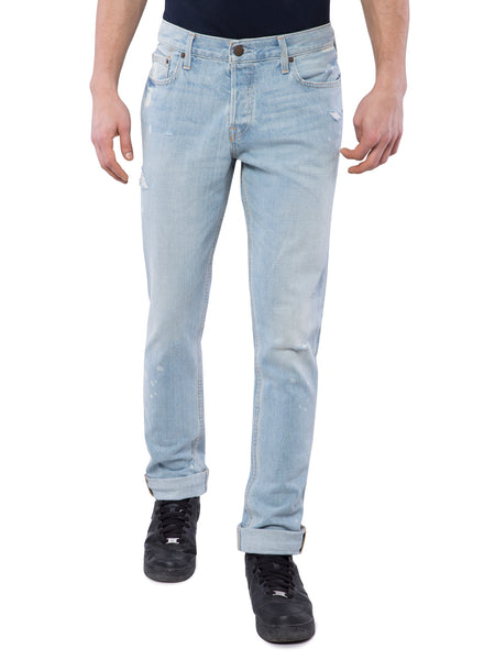 Hollister Men Light Blue Skinny Jeans