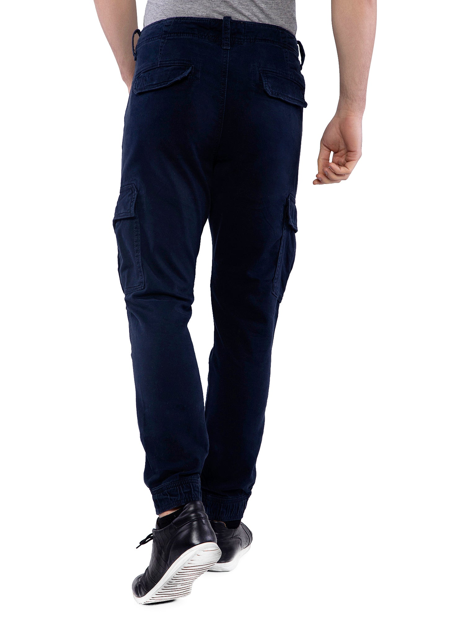 Hollister Men Dark Blue Chinos