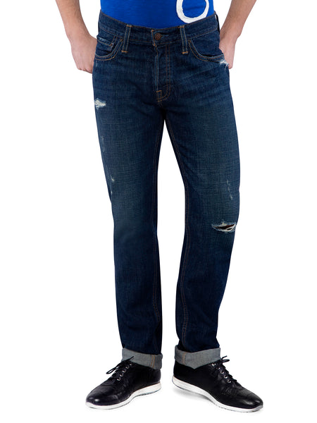 Hollister Men Dark Blue Skinny Jeans