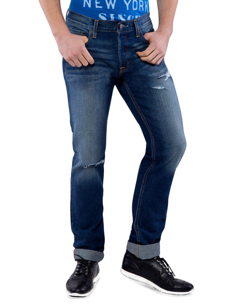 Hollister Men Blue Skinny Jeans