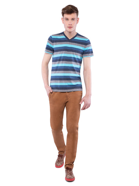 Hollister Men Dark Khaki Chinos