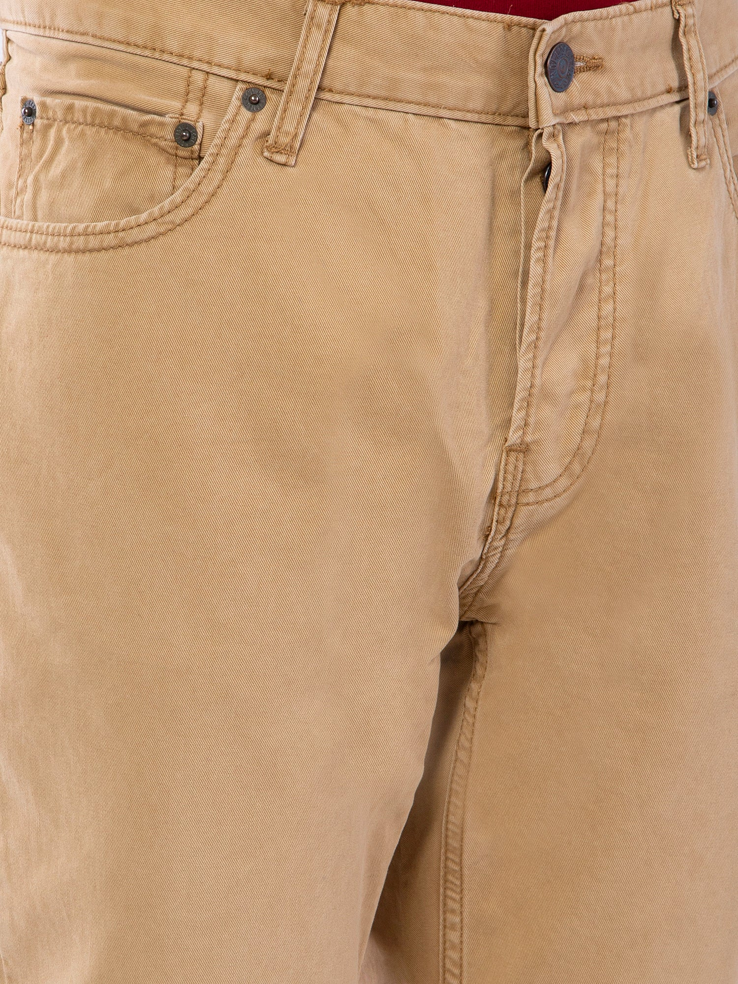 Hollister Men Khaki Chinos