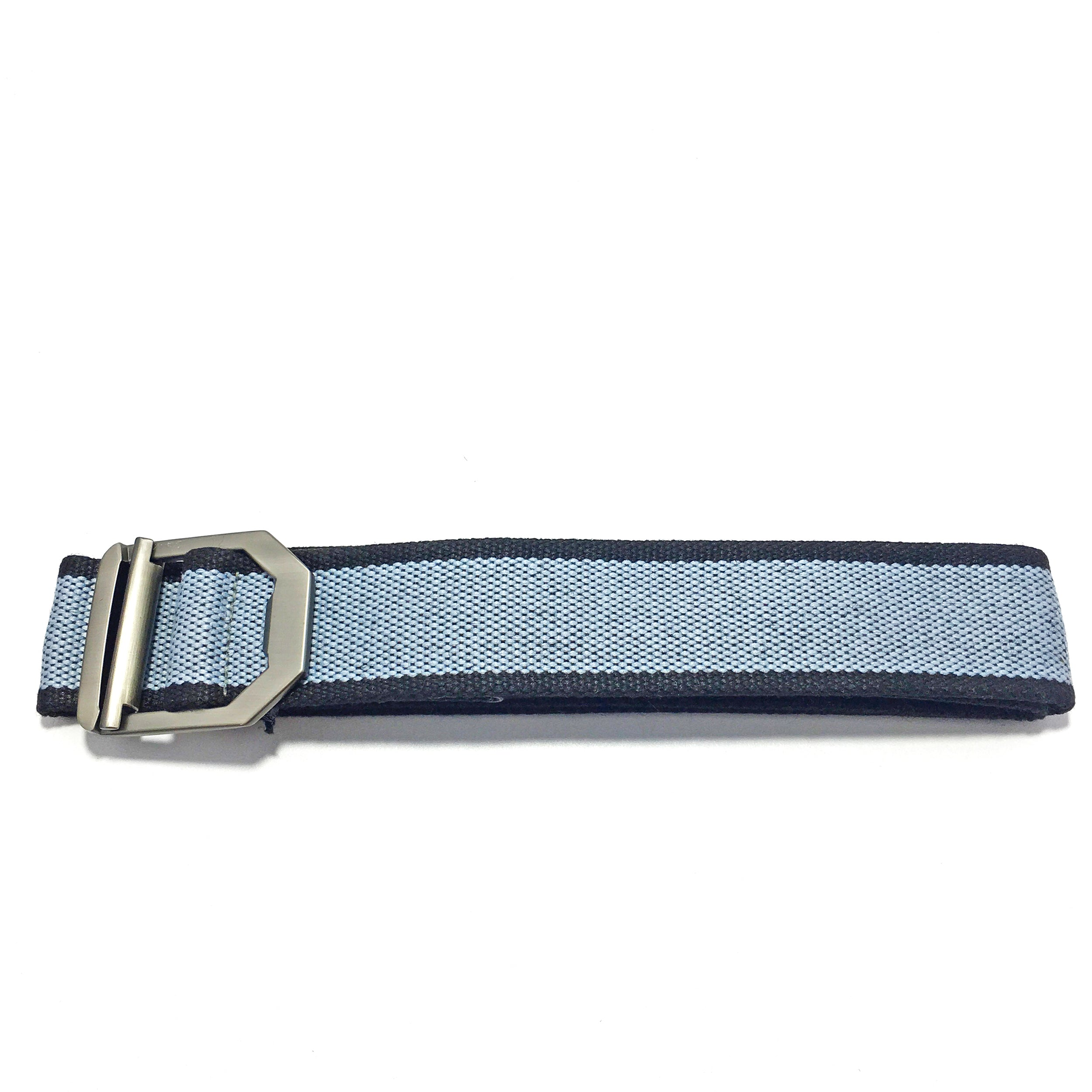 Unisex webbing Belt Light Blue