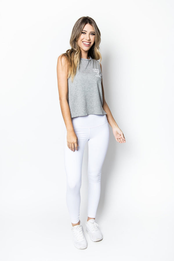 Lili Sleeveless Crop Top
