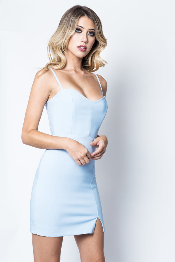 Muse Mini Dress in Blue