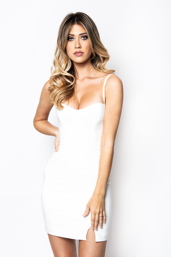 Muse Mini Dress in Ivory