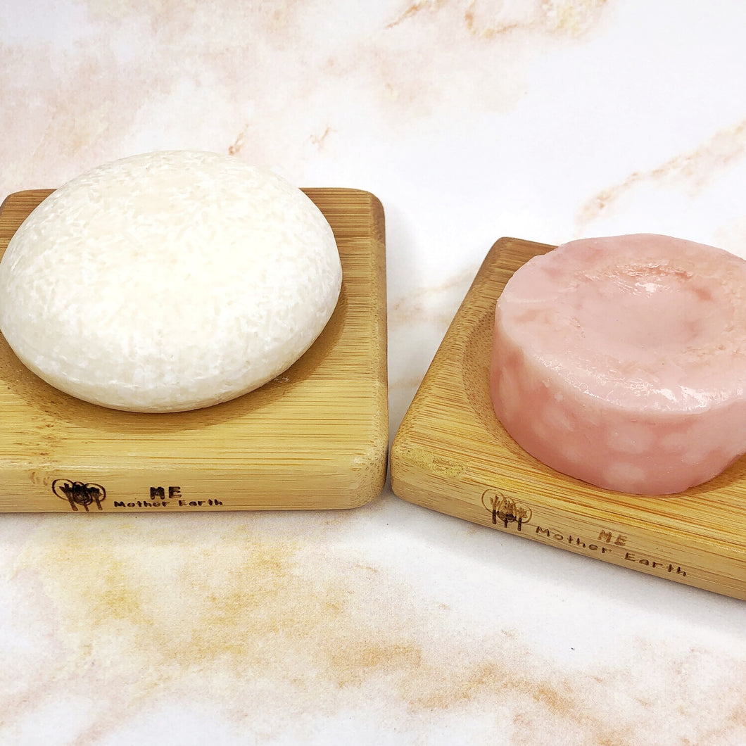 Square Bamboo Soap Dish