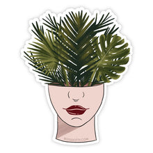 Load image into Gallery viewer, Plant Head Sticker