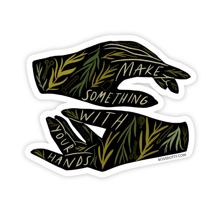 Make Something Sticker
