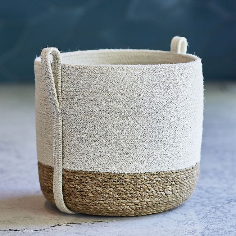 Savar Basket with Side Handle