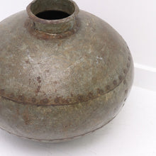 Load image into Gallery viewer, Rustic Iron Pot / Vase