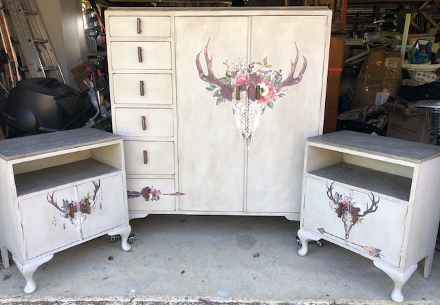 Bohemian Bedroom Furniture Makeover