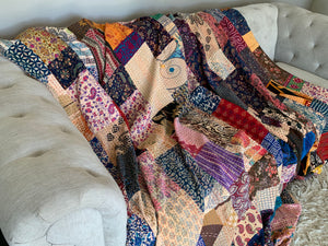 Hand Made Patchwork Quilt