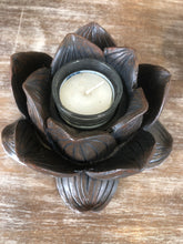 Load image into Gallery viewer, Lotus Flower Candle Holder