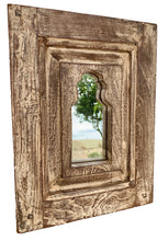 Load image into Gallery viewer, Distressed Indian Mirror