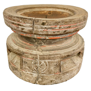 Indian Seeder Candle Holder