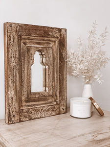 Distressed Indian Mirror
