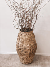 Load image into Gallery viewer, Large Rustic Decorative Planter