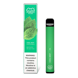 PUFF PLUS Cool Mint 5%