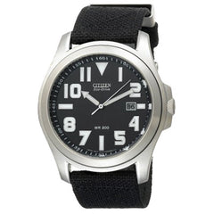 Citizen Men's Eco-Drive Canvas Watch #BM6400-00E