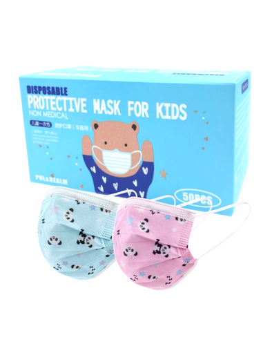 Pul&Realm Disposable Protective Mask For Kids (50-pcs)