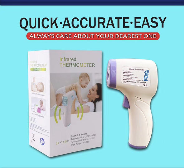 Non-contact Infrared Forehead Thermometer