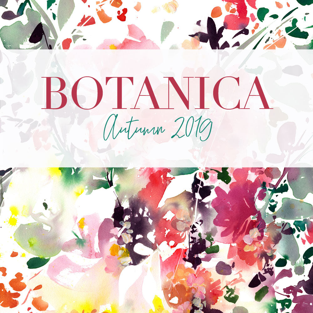Botanica original floral art by CreativeIngrid | Ingrid Sanchez. Autumn Collection 2019, London.