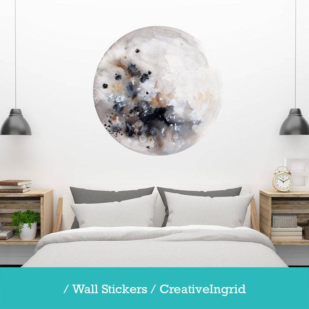 Wall stickers and removable wallpaper by CreativeIngrid.