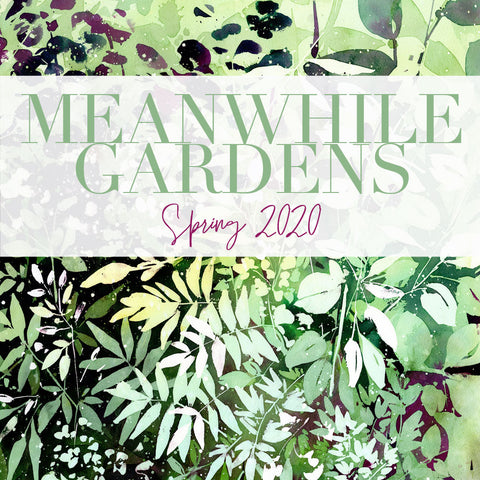 Meanwhile Gardens, Spring collection 2020 by CreativeIngrid | Ingrid Sanchez. Original Watercolour Art.