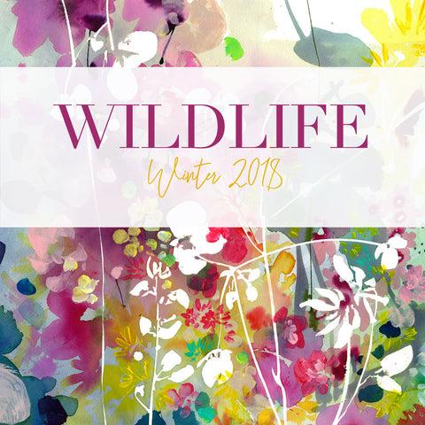 Wildlife Collection of original watercolour paintings by Ingrid Sanchez | Winter Collection 2018.