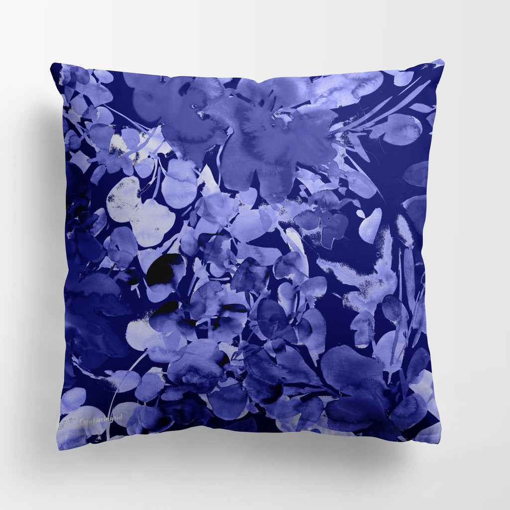 Blue Chelsea Pillow Case Cover | CreativeIngrid - CreativeIngrid | Ingrid Sanchez
