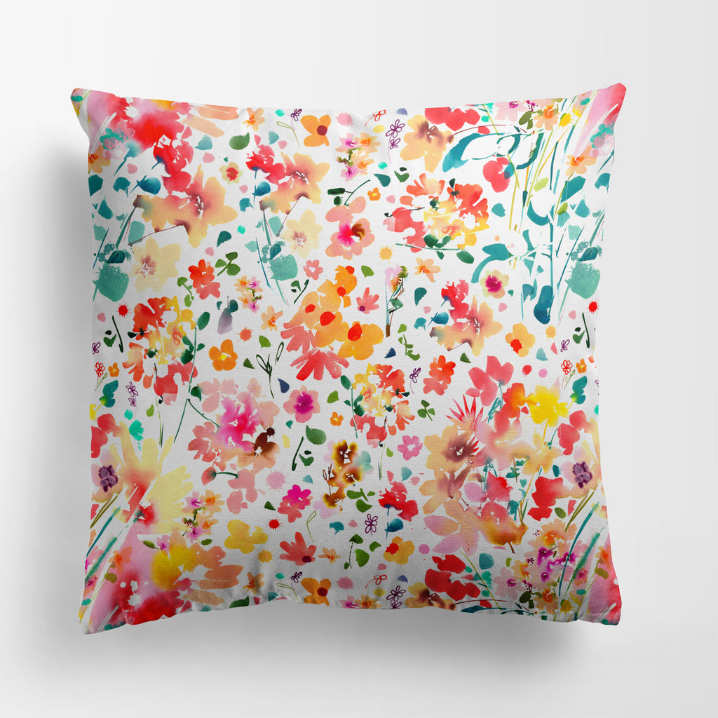 Nectar - Floral Pillow Case Cover | CreativeIngrid - CreativeIngrid | Ingrid Sanchez
