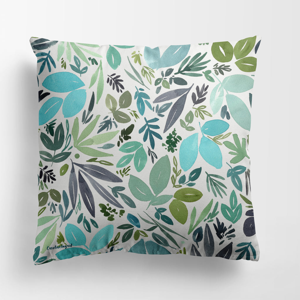 Only Leaves Pillow Case | CreativeIngrid - CreativeIngrid | Ingrid Sanchez