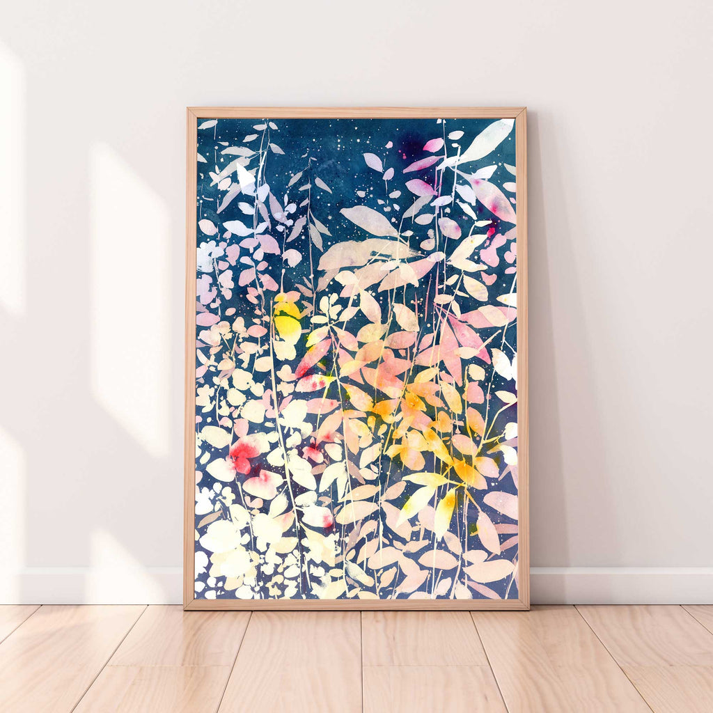 Falling Leaves, Original Art | Ingrid Sanchez - CreativeIngrid | Ingrid Sanchez
