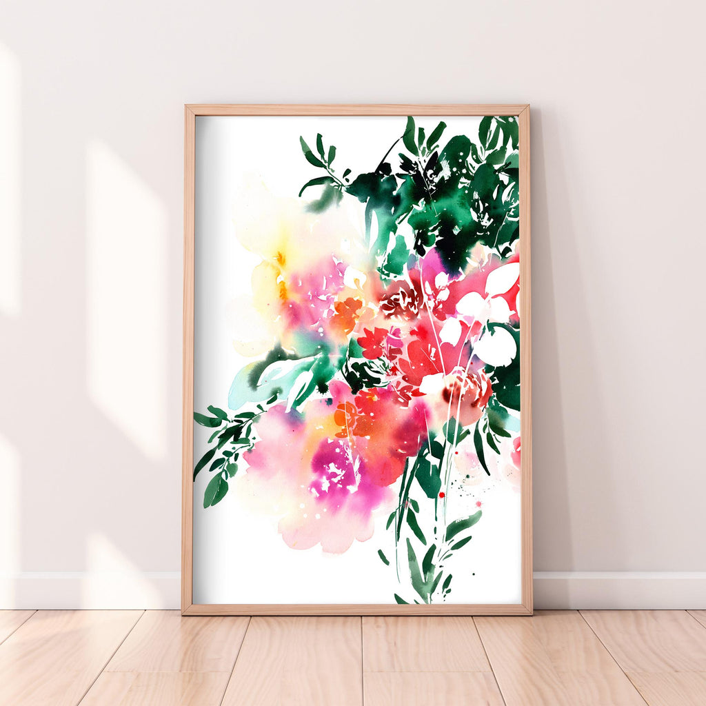 Floral Spell, Original Art | Ingrid Sanchez - CreativeIngrid | Ingrid Sanchez