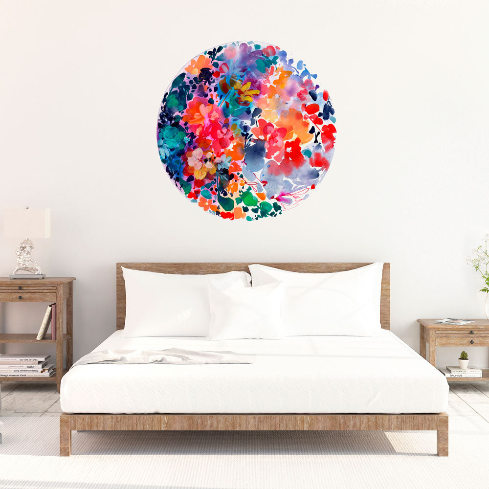 Flourish Wall Sticker | CreativeIngrid - CreativeIngrid | Ingrid Sanchez