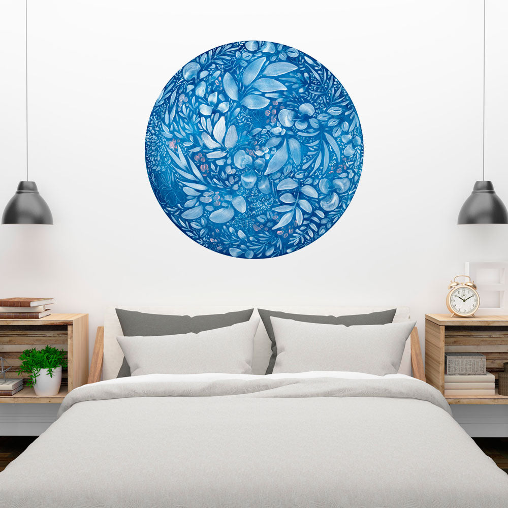 Full Flower Moon Wall Sticker | CreativeIngrid - CreativeIngrid | Ingrid Sanchez