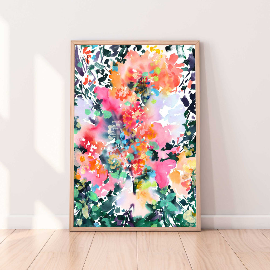 Into the Fall, Art Print | CreativeIngrid - CreativeIngrid | Ingrid Sanchez