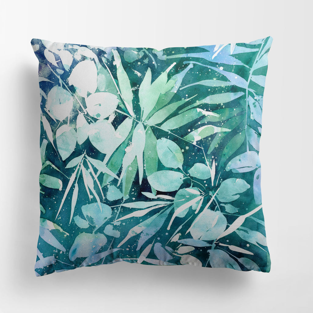 Jungle Dream, Turquise Pillow Case | CreativeIngrid - CreativeIngrid | Ingrid Sanchez