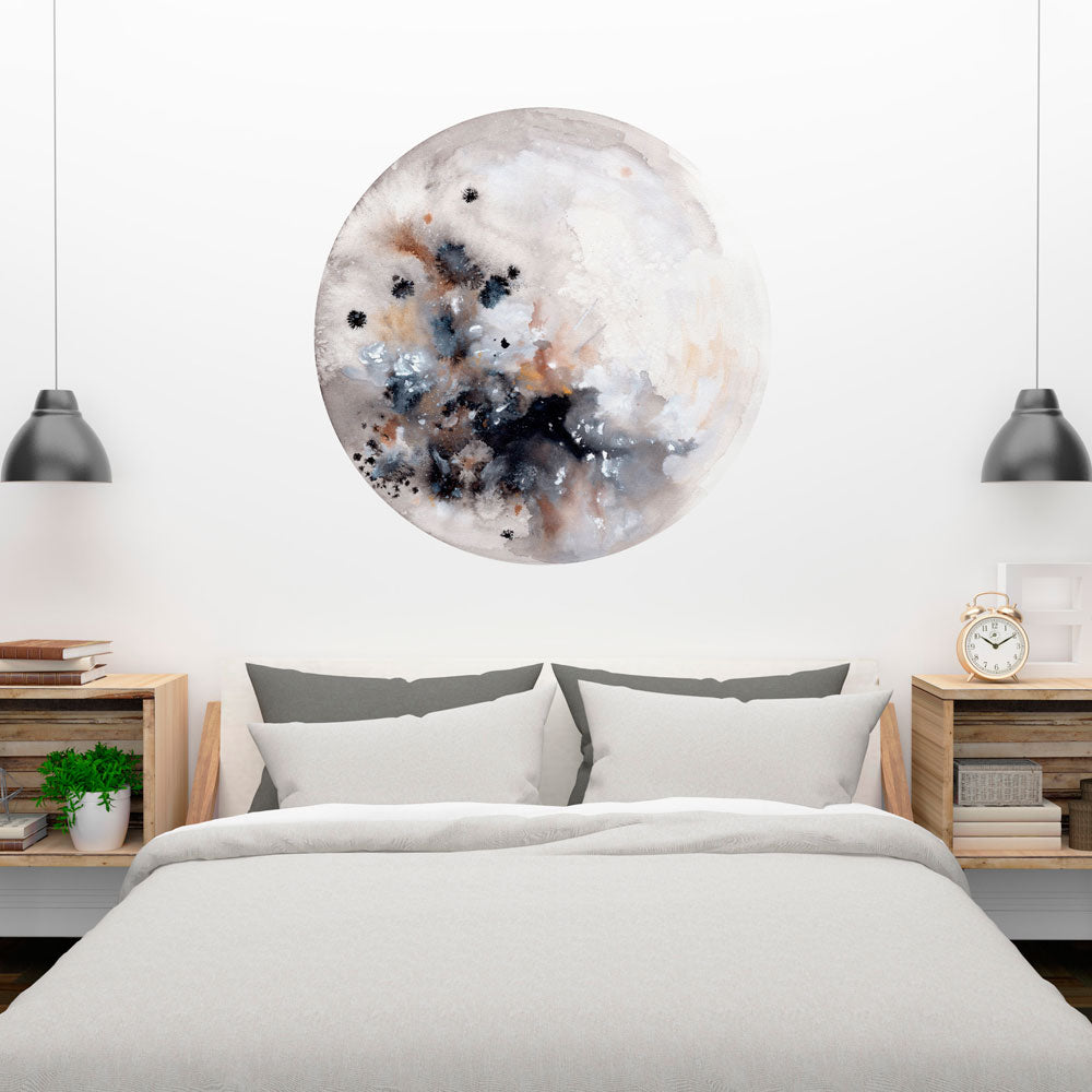 Silver Moon Wall Sticker | CreativeIngrid - CreativeIngrid | Ingrid Sanchez