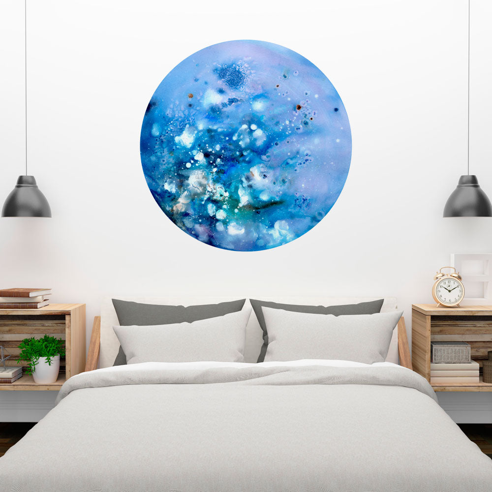 Super Blue Moon Wall Sticker | CreativeIngrid - CreativeIngrid | Ingrid Sanchez