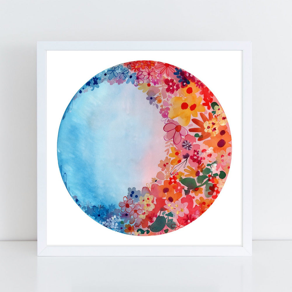 Sweet Moon, Art Print | CreativeIngrid - CreativeIngrid | Ingrid Sanchez