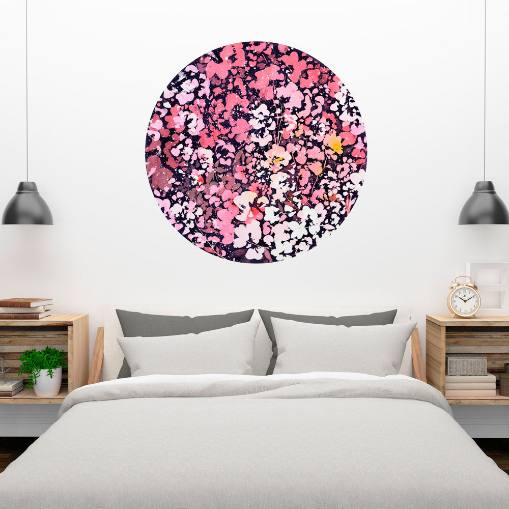 Under the Pink Moon Wall Sticker | CreativeIngrid - CreativeIngrid | Ingrid Sanchez
